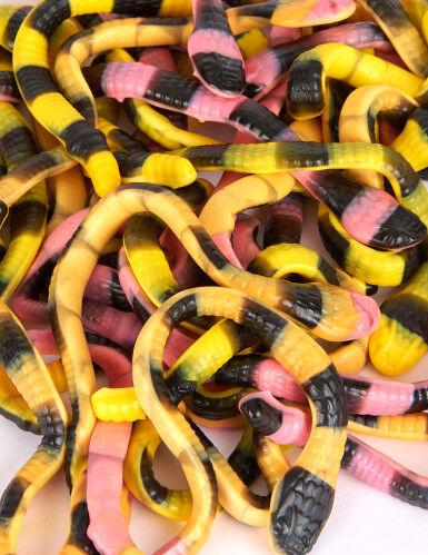 VegaooParty Sachet bonbons serpents Pit le python 1 kg Taille Unique