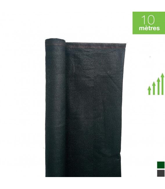 10ML de Brise vue Toile - Couleur - Gris 7016, Hauteur - Ht 1m75