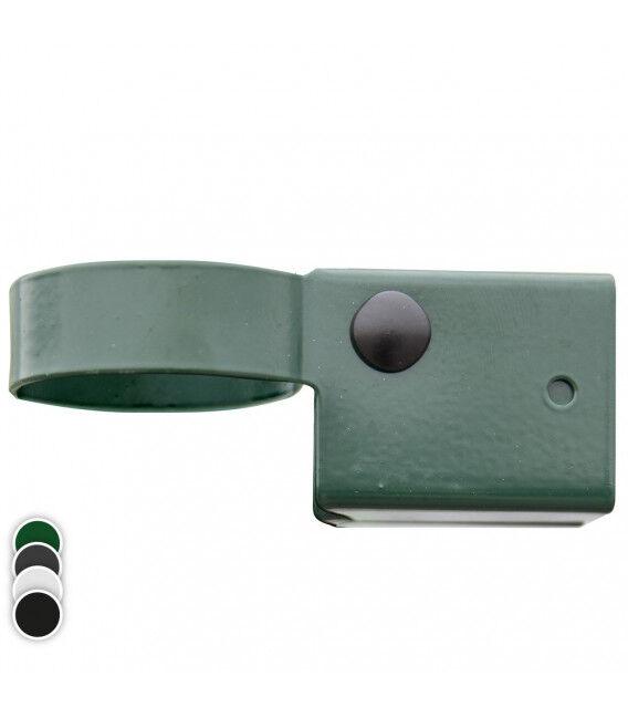 Collier pour poteau rond - Couleur - Gris 7016