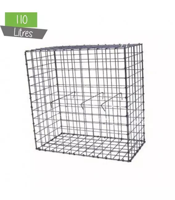 Gabion Décor Cube 60 x 60 cm