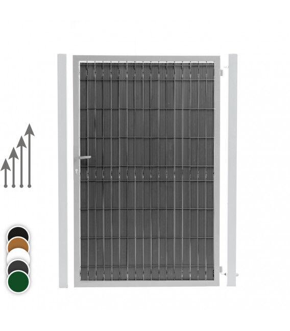 Kit Occultation PVC Portillon - Couleur - Vert 6005, Hauteur - Ht 1m53
