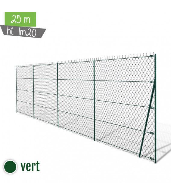 Kit 25ML Simple Torsion Ht 1m20 - Vert (Ø 2,4mm)