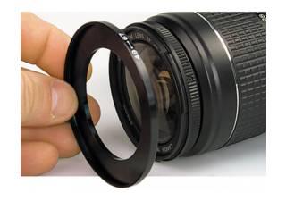 BIG bague adaptatrice 62-72 pour filtre 72 mm sur objectif diamètre 62