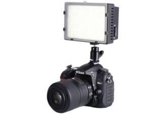 BIG torche vidéo 170 LED à intensité réglable