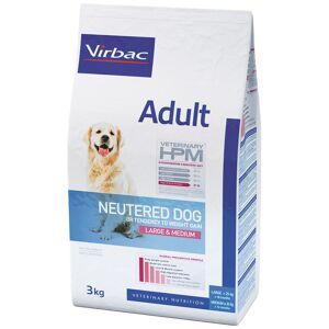 Virbac Veterinary HPM Adult Dog Neutered Large & Medium Contenance : 12 kg - Publicité