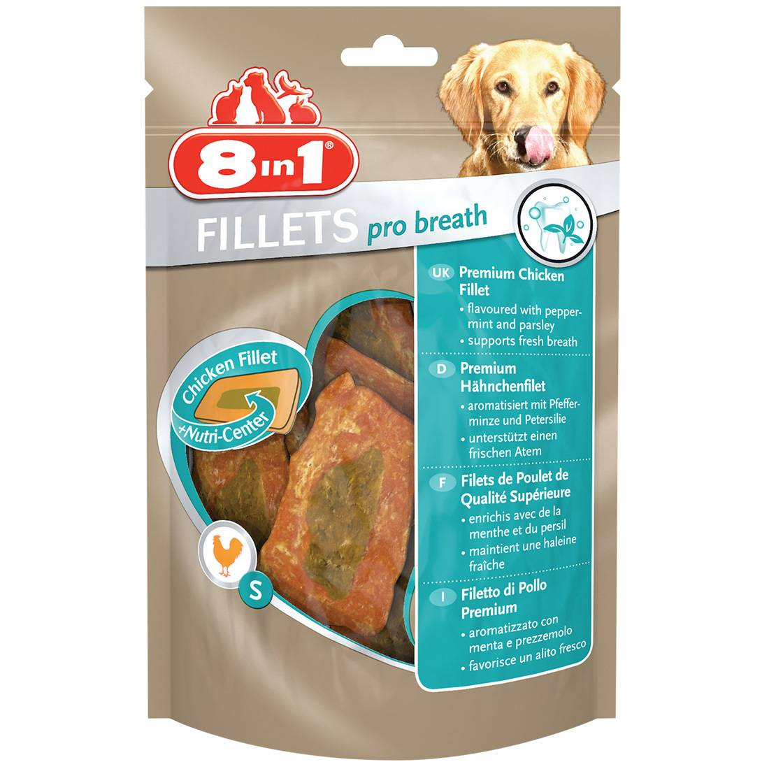 8in1 Fillets Pro Breath Taille : S