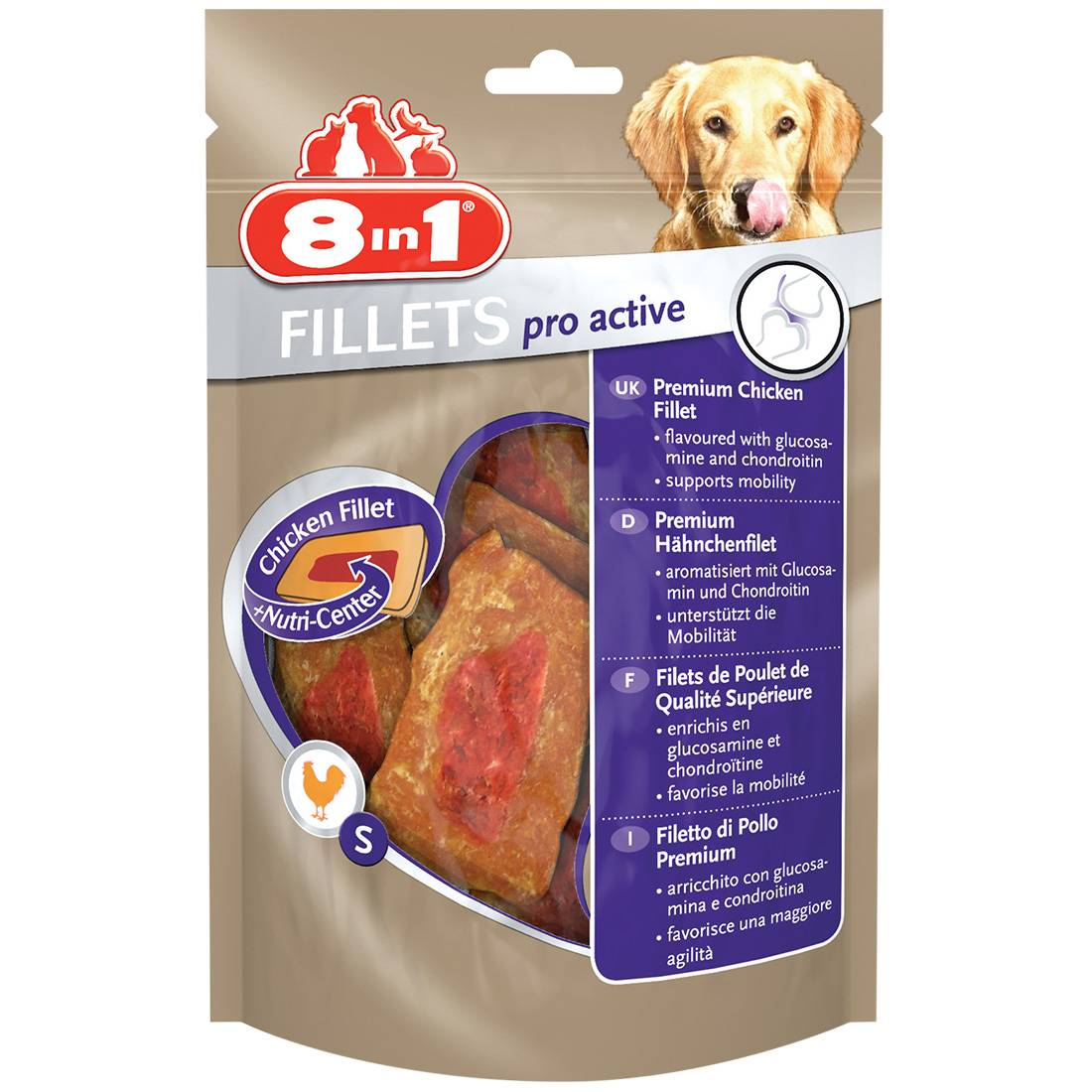8in1 Fillets Pro Active Taille : S