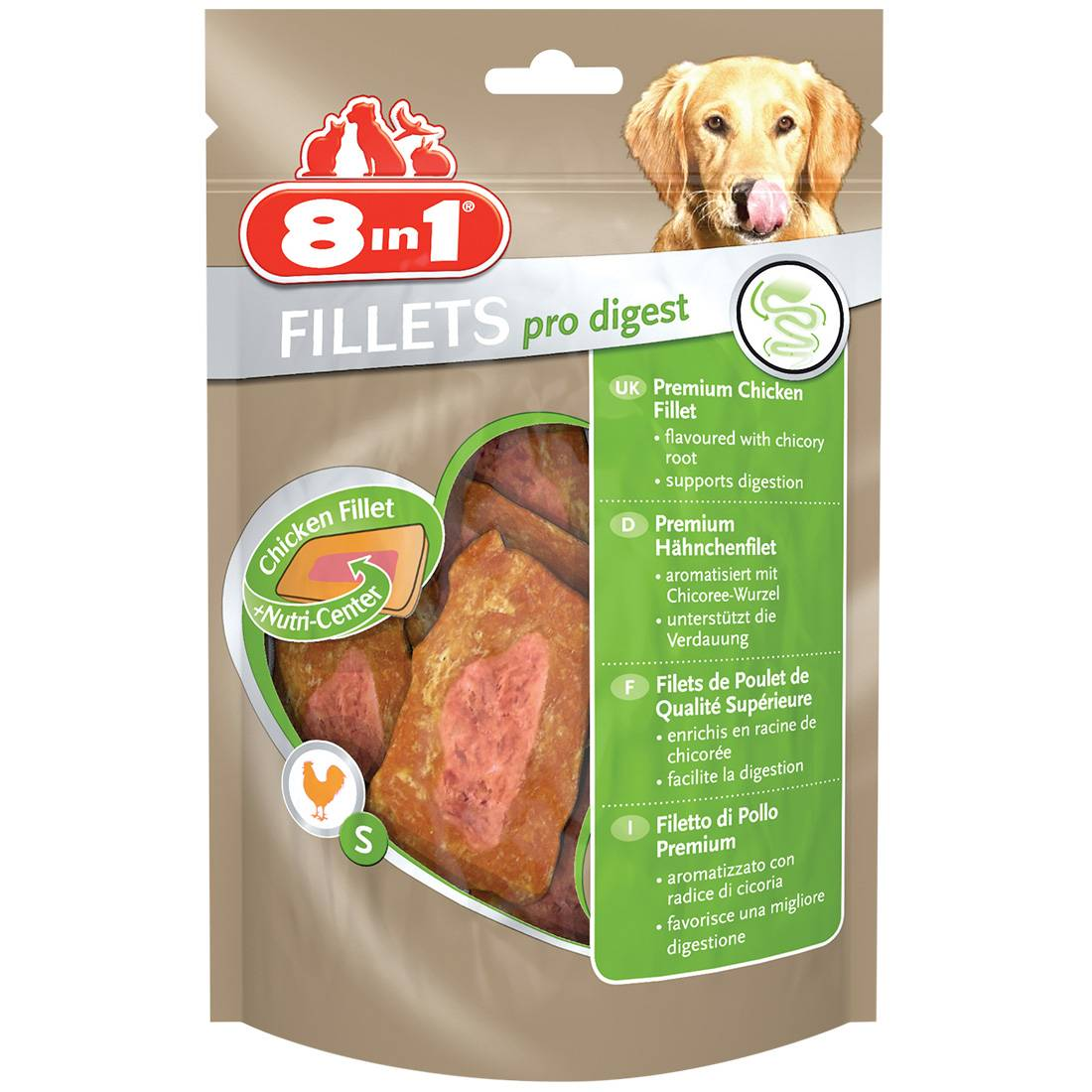 8in1 Fillets Pro Digest Taille : S