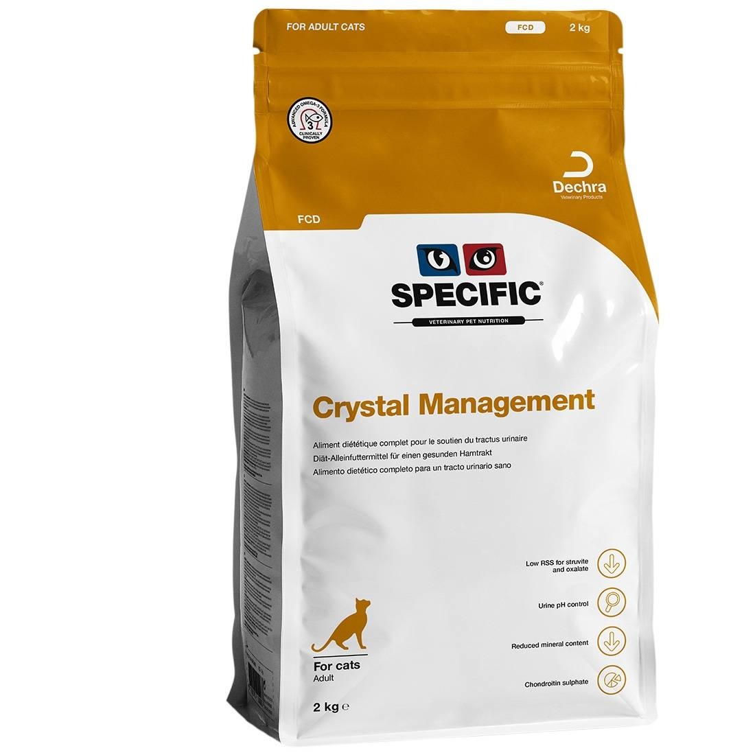 Specific Croquettes chat SPECIFIC FCD Crystal Management Contenance : 7 kg