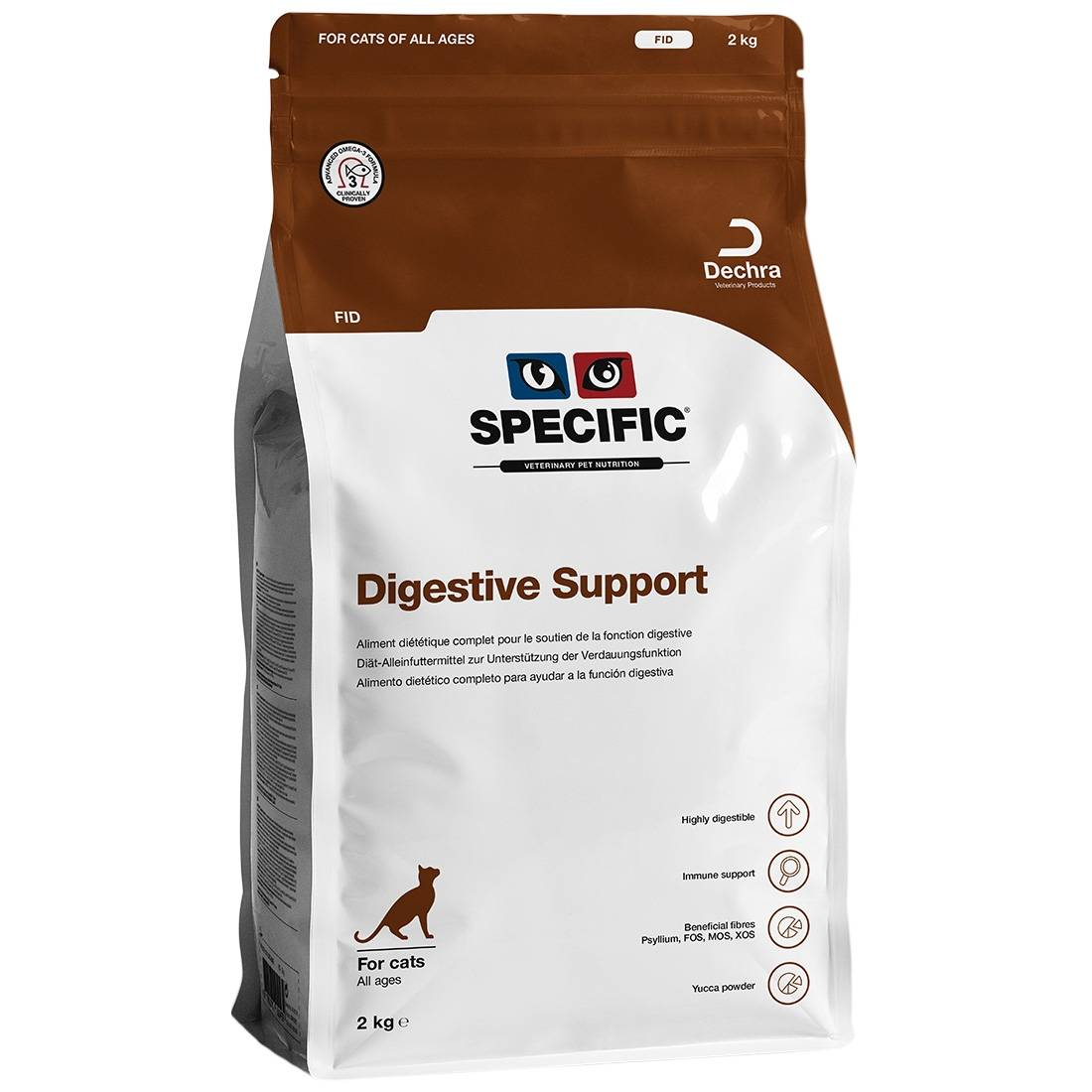 Specific Croquettes chat SPECIFIC FID Digestive Support Contenance : 2 kg