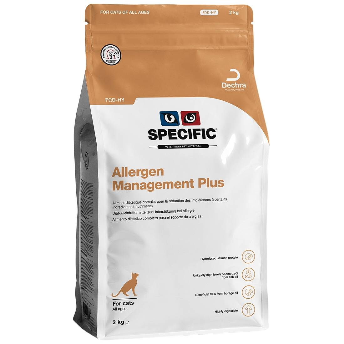 Specific Croquettes chat SPECIFIC FOD-HY Allergy Management Plus Contenance : 2 kg