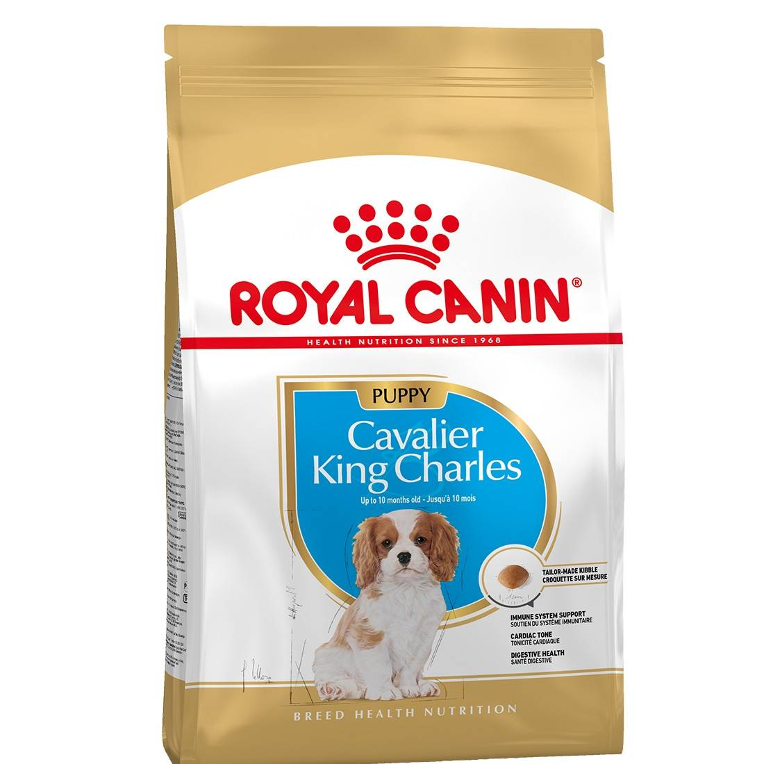 Royal Canin Breed Royal Canin Mini Breed Cavalier King Charles Junior Contenance : 1,5 kg
