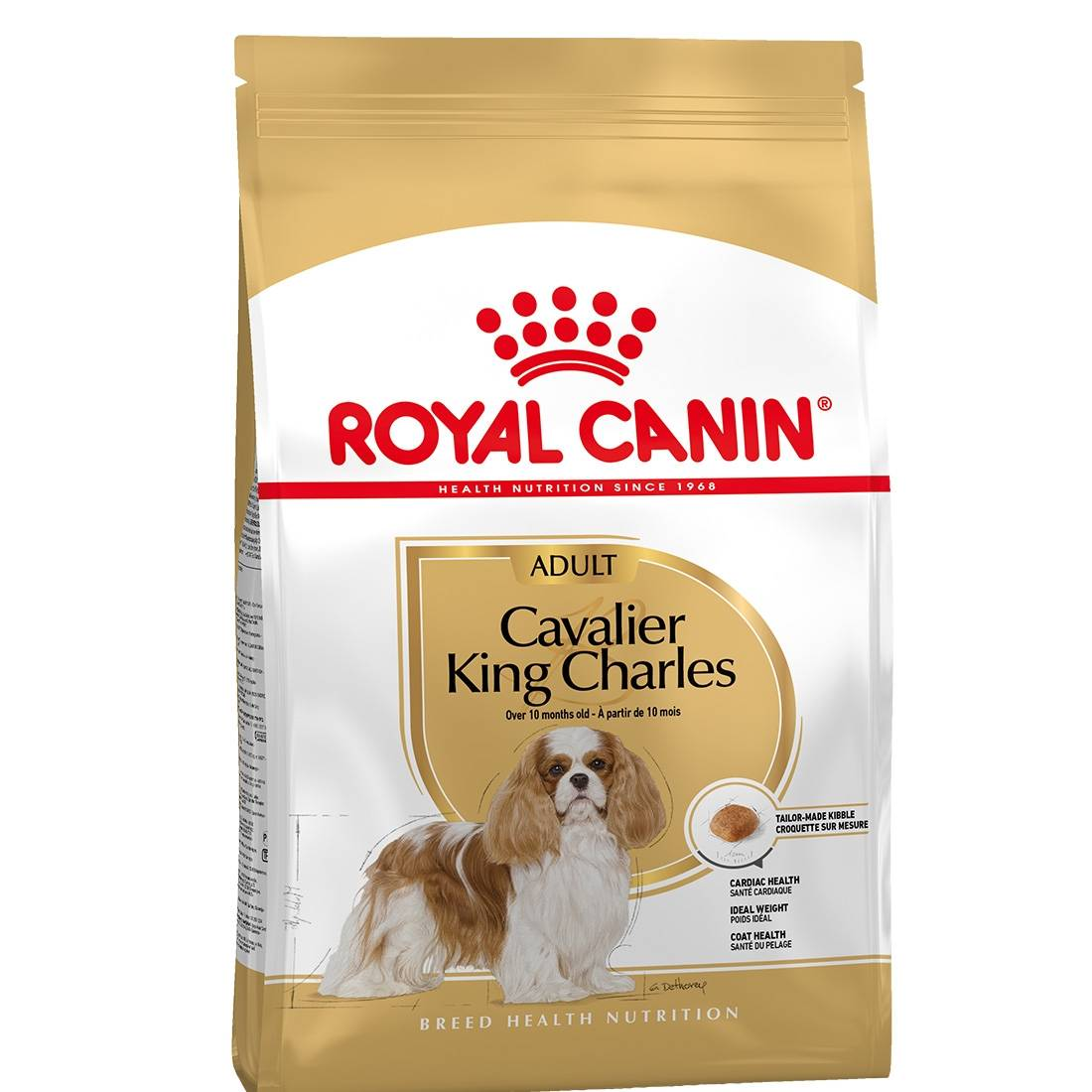 Royal Canin Breed Royal Canin Mini Breed Cavalier King Charles Adult Contenance : 500 g