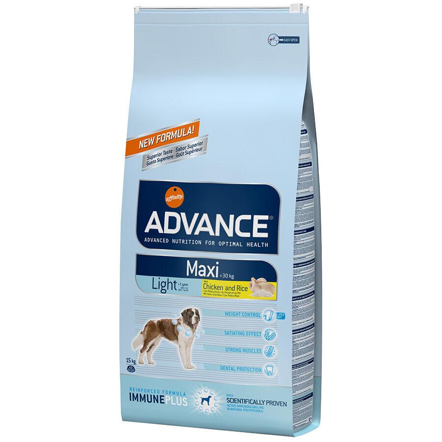 Advance Croquettes chien ADVANCE Maxi Light Contenance : 14 kg