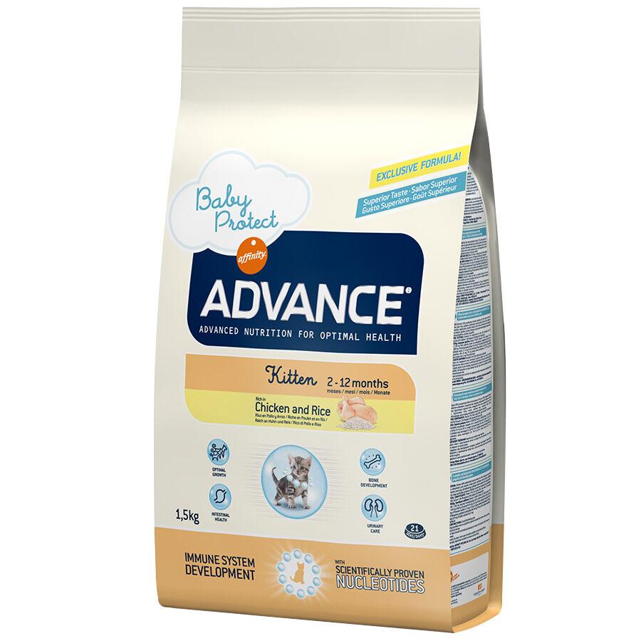 Advance Croquettes chat ADVANCE Kitten Contenance : 15 kg