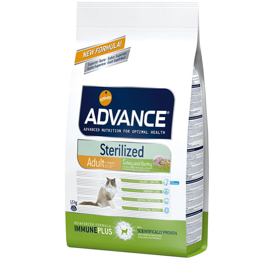 Advance Croquettes chat ADVANCE Sterilized Adult Turkey Contenance : 15 kg