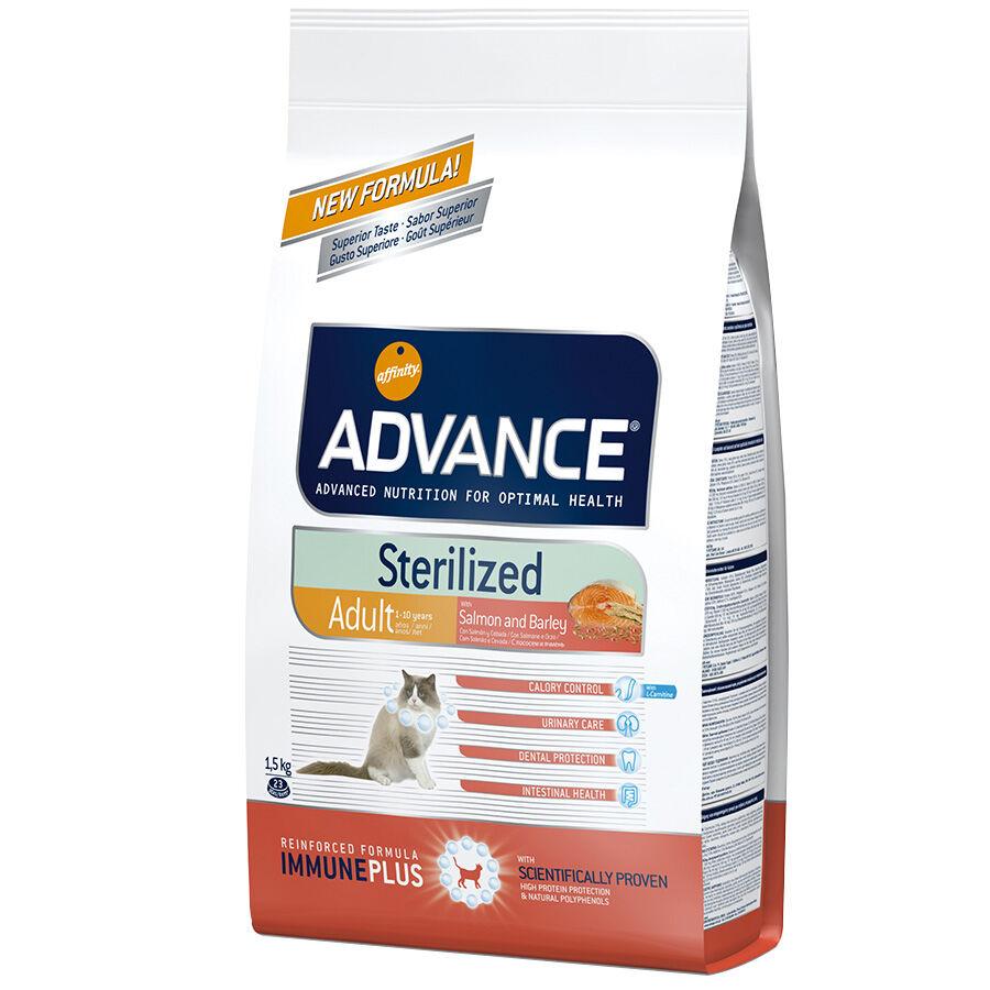 Advance Croquettes chat ADVANCE Sterilized Adult Salmon Contenance : 3 kg