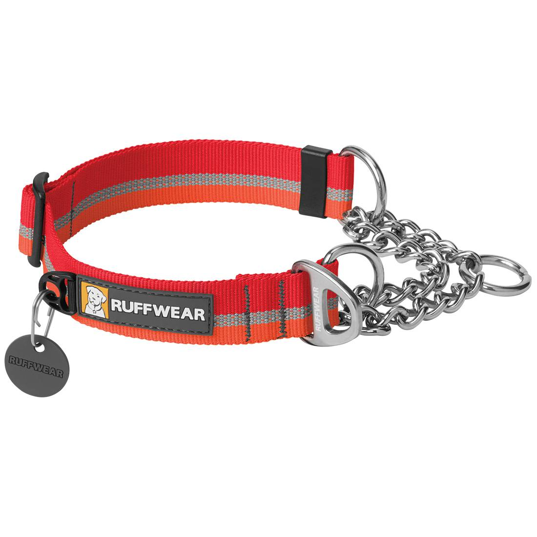 Ruffwear Collier pour chien Ruffwear Chain Reaction rouge Taille : M