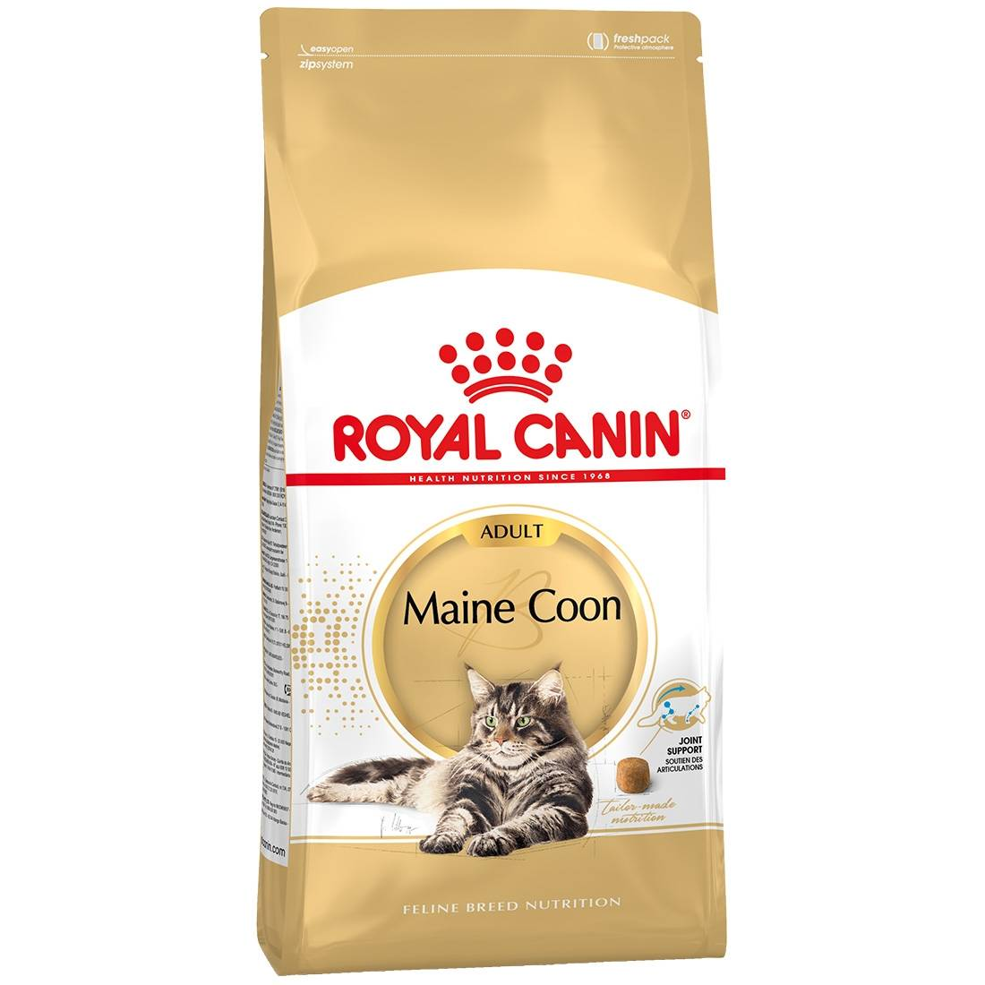 Royal Canin Breed Royal Canin Feline Breed Nutrition Maine Coon 31 Adult Contenance : 10 kg