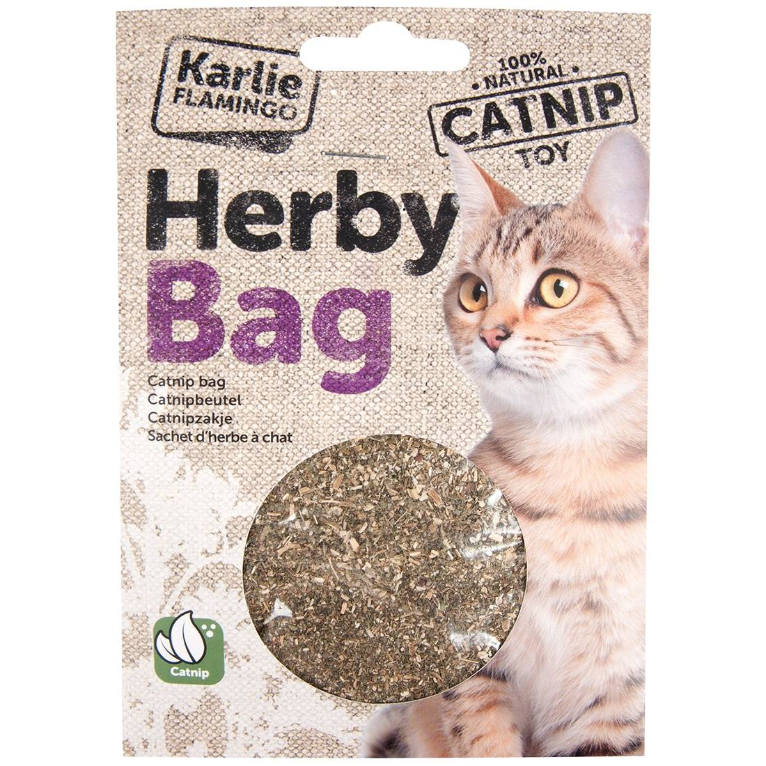 Karlie / Flamingo Herbe à chat CATNIP Original Flamingo Contenance : 15 g