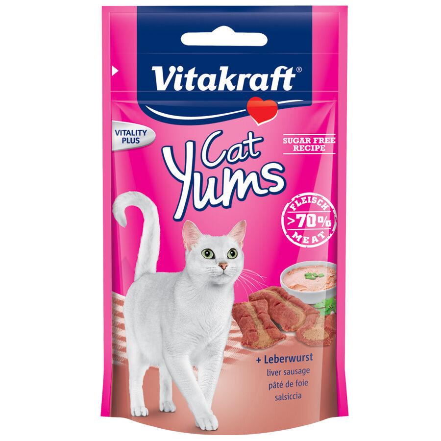 Vitakraft Friandises pour chat Vitakraft Cat Yums au pâté de foie Contenance : 40 g