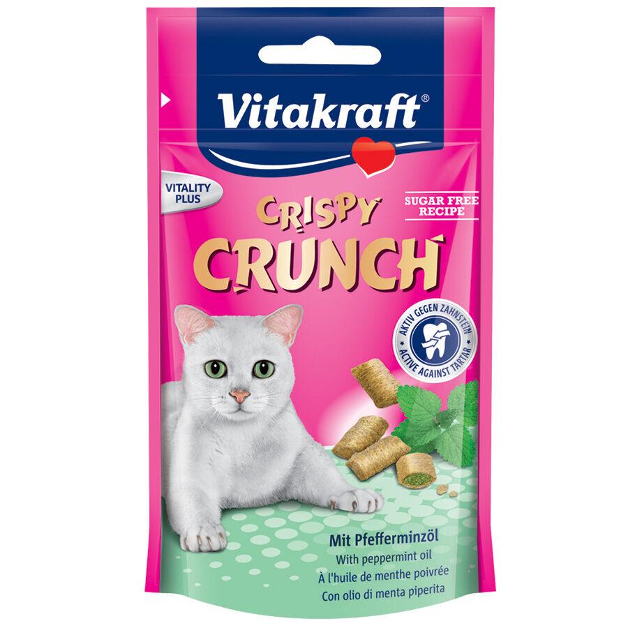 Vitakraft Friandises pour chat Vitakraft Crispy Crunch à l'huile de menthe poivrée Contenance : 60 g