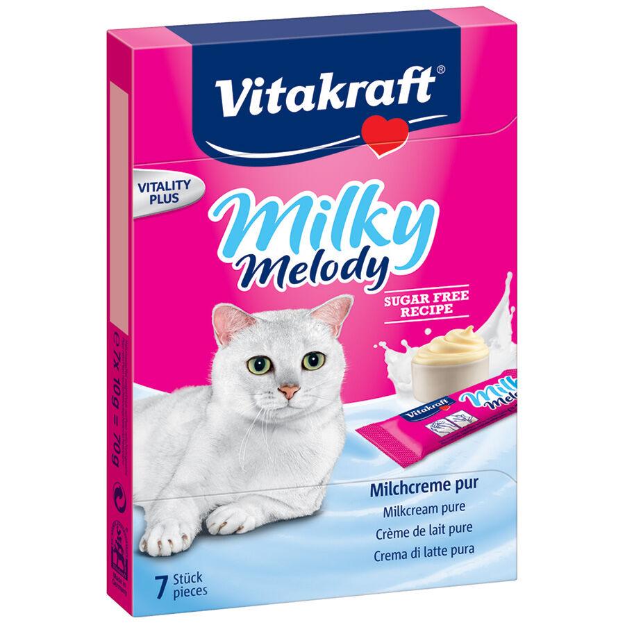Vitakraft Friandises pour chat Vitakraft Milky Melody à la crème de lait pure