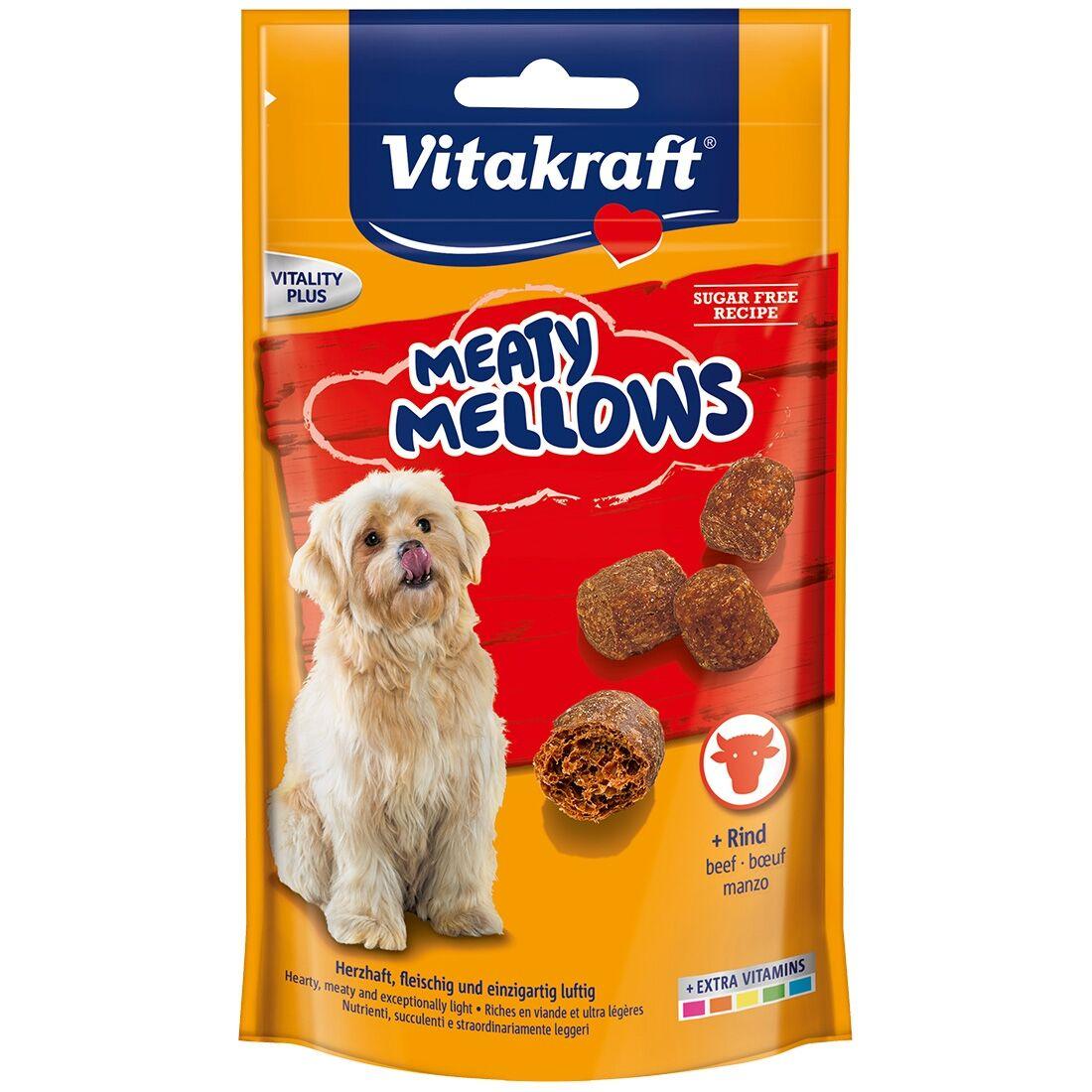 Vitakraft Friandise pour chien Vitakraft Meaty Mellows au Bœuf Contenance : 120 g
