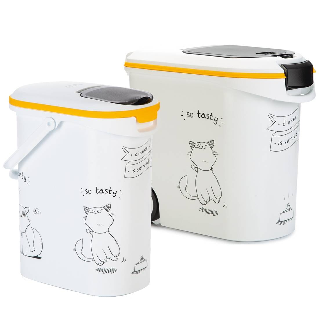 Curver Container à croquettes chat CURVER Contenance : 10 litres
