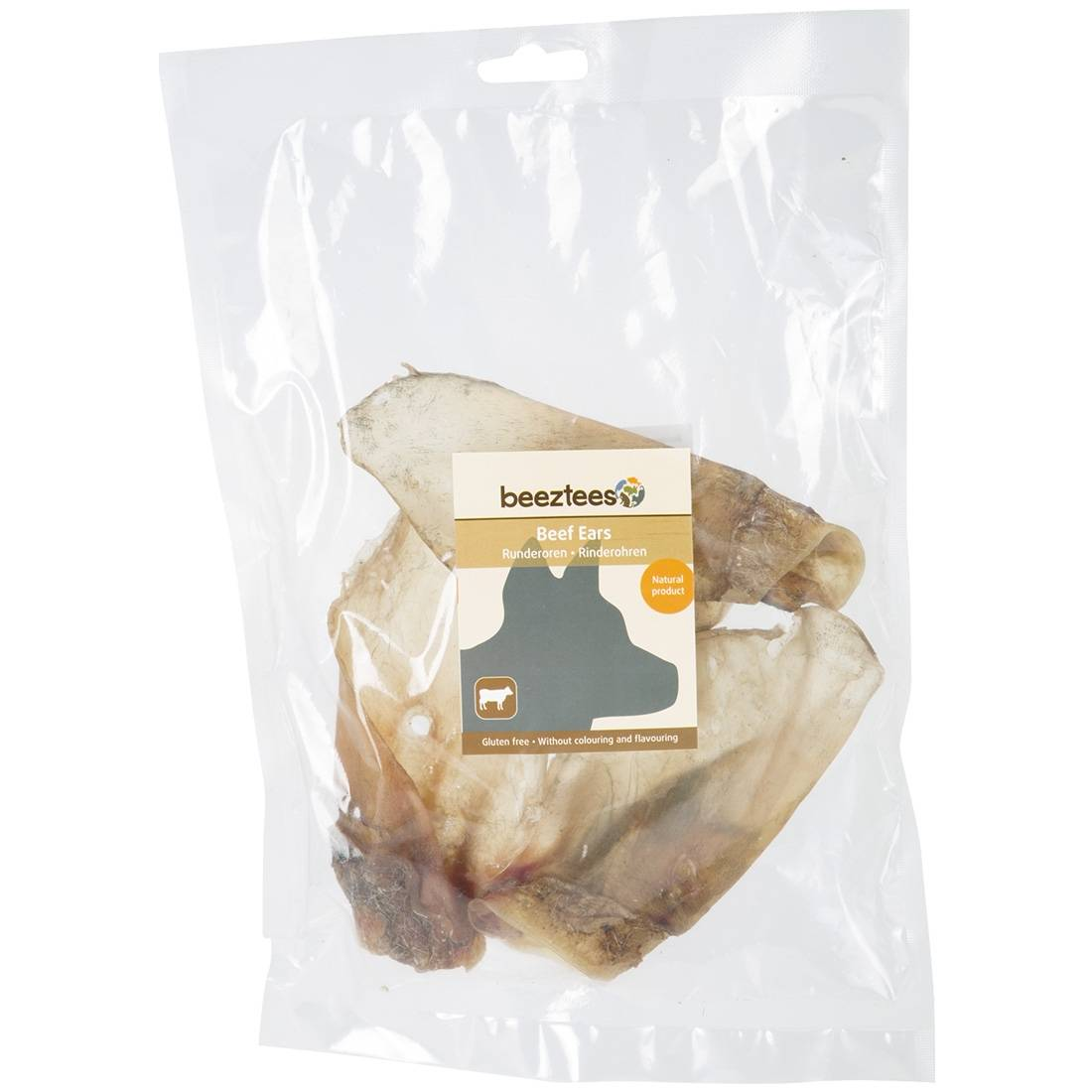Beeztees Oreilles de bœuf pour chien Beeztees Contenance : 3 pièces
