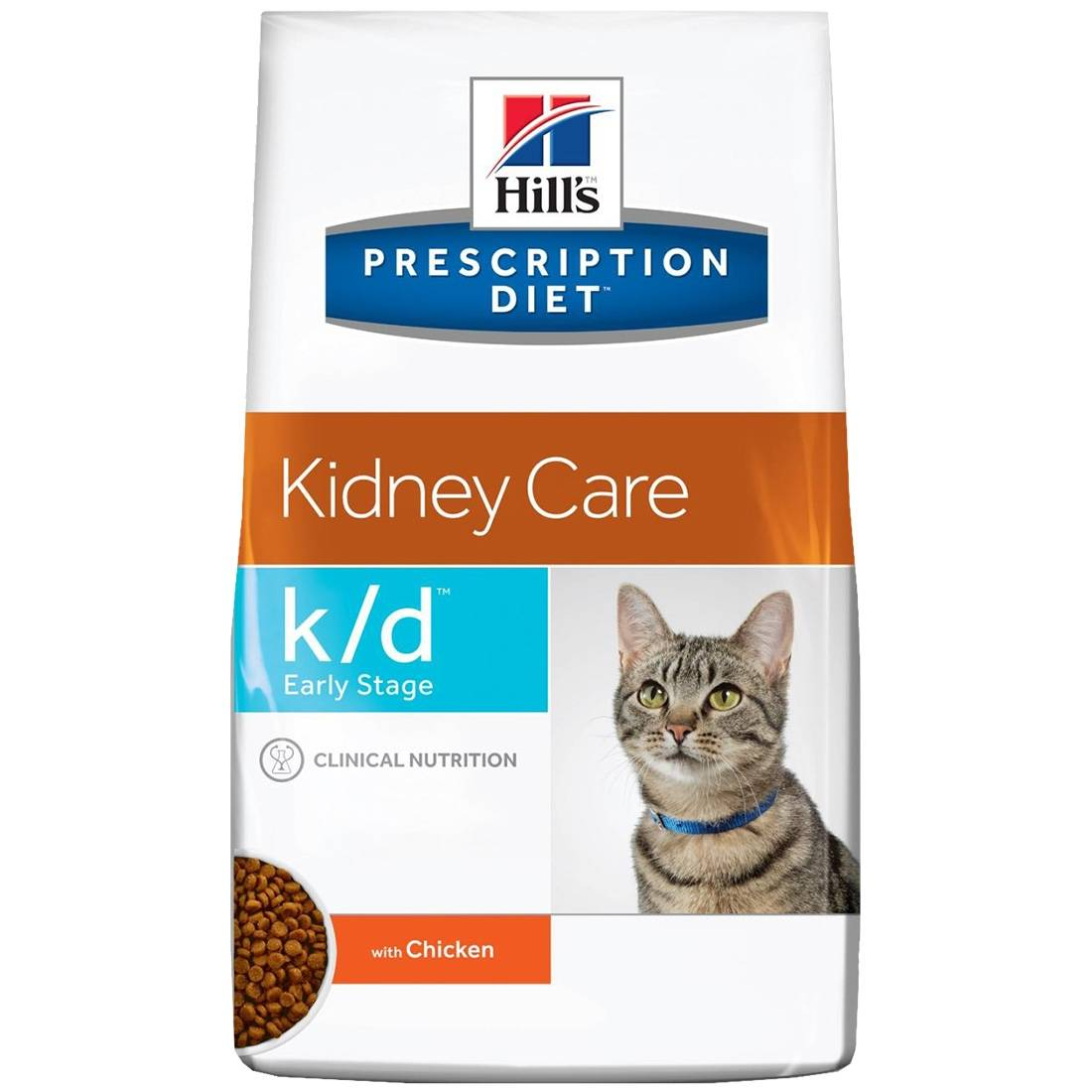 Hill's Prescription Diet Feline k/d Early Stage Contenance : 1,4 kg