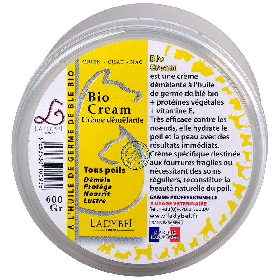 Ladybel Démêlant Ladybel Bio Cream Contenance : 200 ml