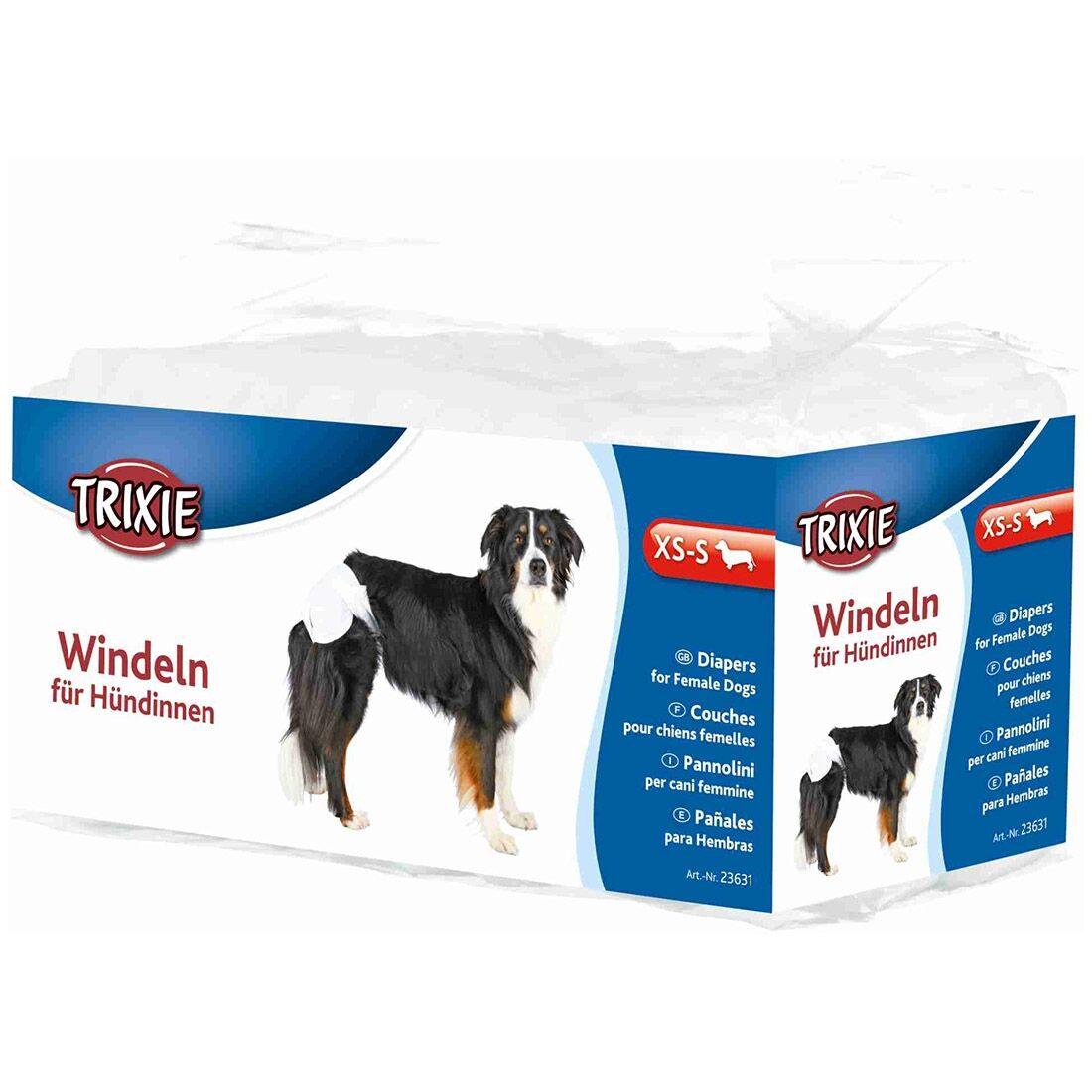 Trixie Couches jetables pour chien TRIXIE Taille : XS / S