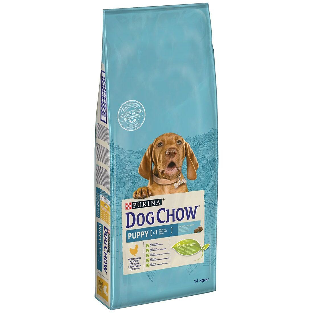 Dog Chow Puppy Poulet et Riz Contenance : 14 kg