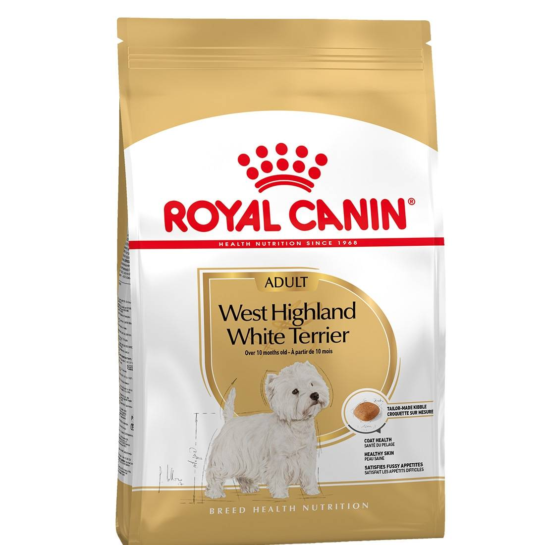 Royal Canin Breed Royal Canin Mini Breed Westie Adult Contenance : 1,5 kg