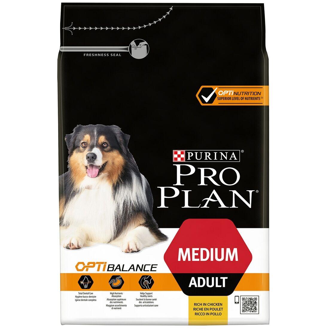 PRO PLAN Medium Adult OptiBalance Contenance : 14 kg