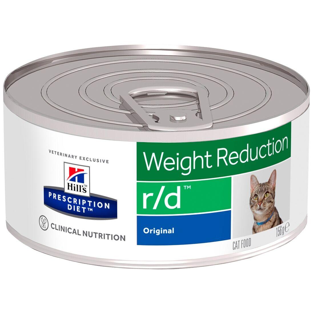 Hill's Prescription Diet Boîtes Hill's Prescription Diet Feline r/d Contenance : 24 boîtes de 156 g