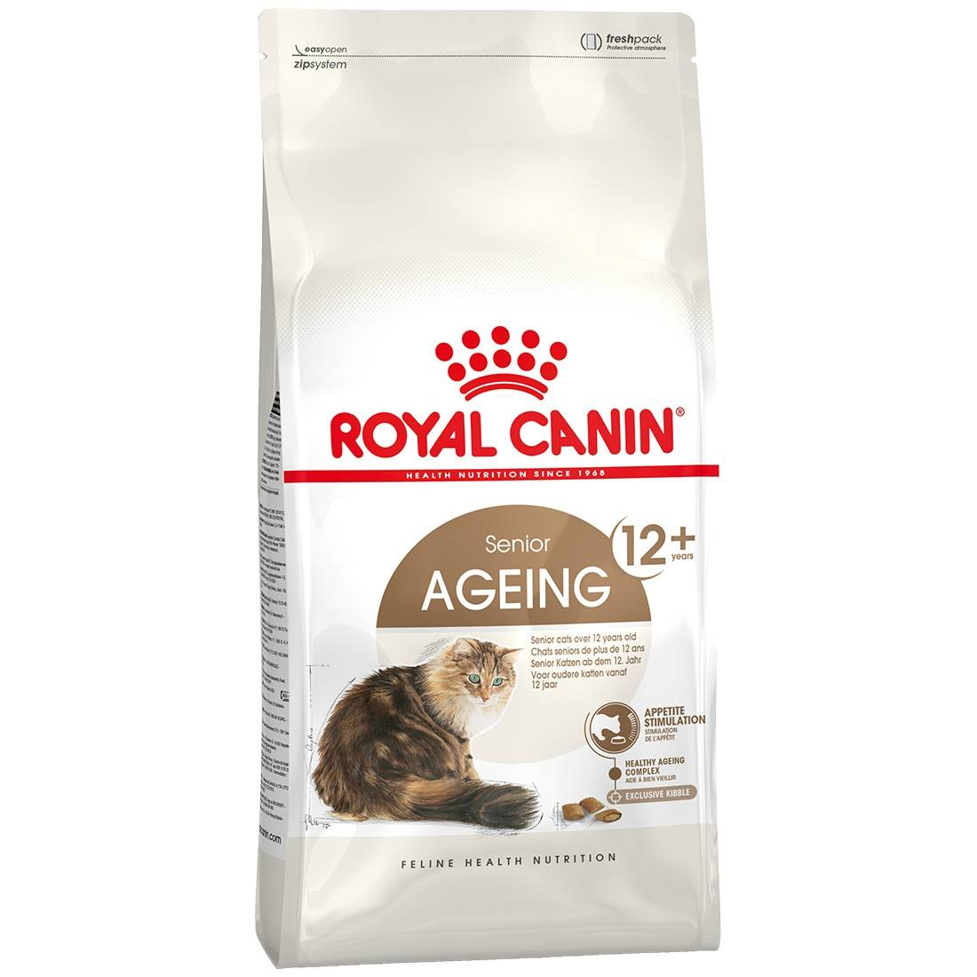 Royal Canin Ageing +12 Contenance : 4 kg