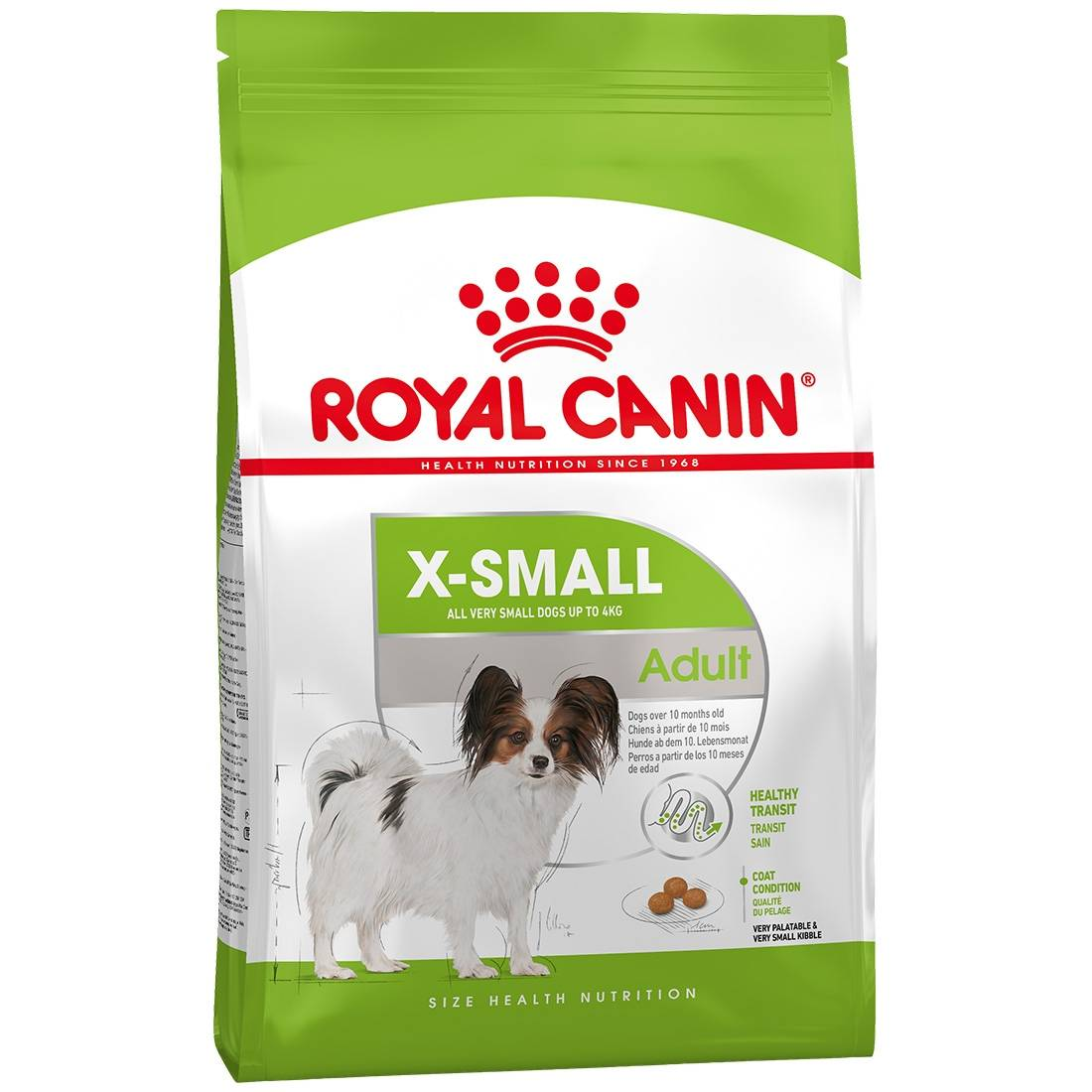 Royal Canin Croquettes pour chien Royal Canin X-SMALL Adult Contenance : 500 g