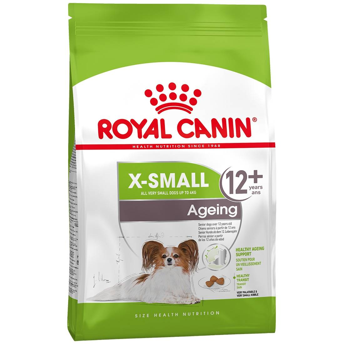 Royal Canin Croquettes pour chien Royal Canin X-SMALL Ageing +12 Contenance : 500 g