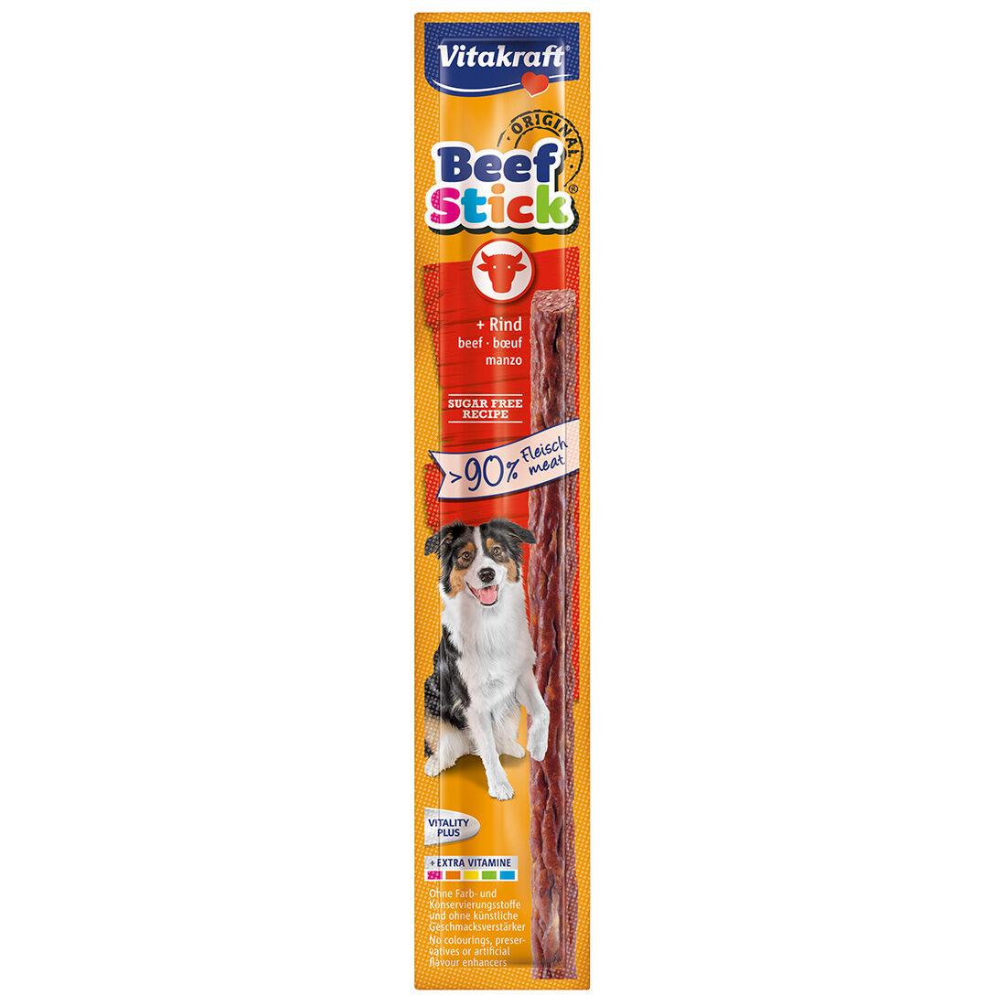 Vitakraft Friandise pour chien Vitakraft Beef-Stick au Bœuf Contenance : 1 pièce de 12 g