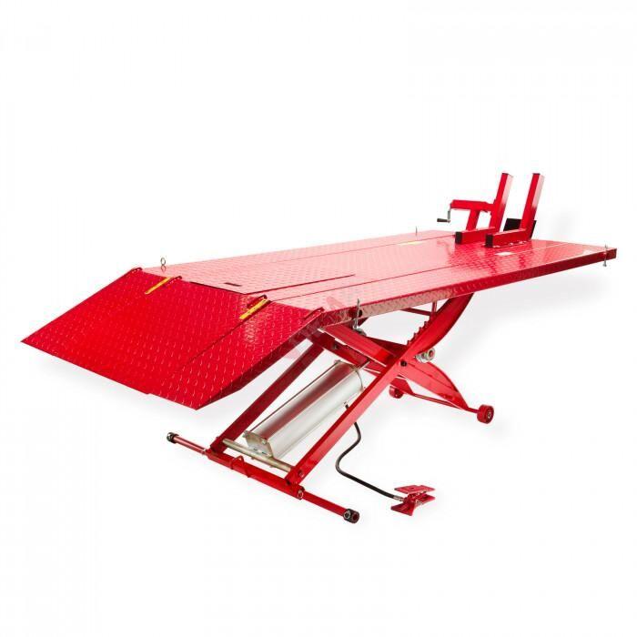 Dema Pont élévateur moto-quad - Pneumatique - Table 2000 mm