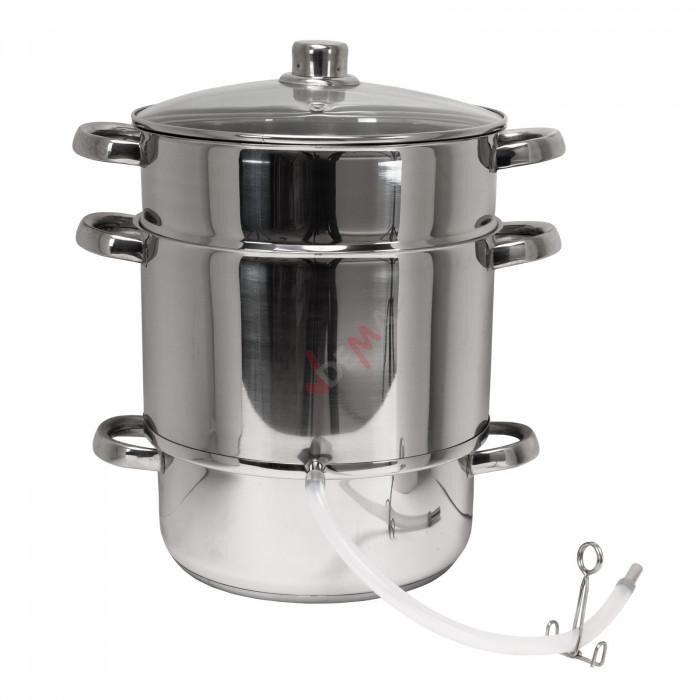 Dema Extracteur de jus à vapeur inox 26 cm
