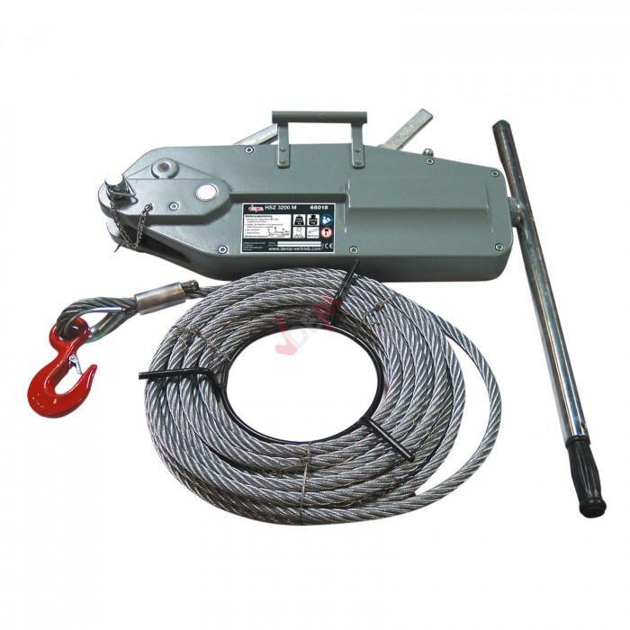 Dema Tire-câble manuel - Tire-fort - 3,2 Tonnes