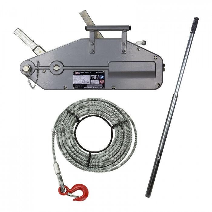 Dema Tire-câble manuel - Tire-fort - 1,6 Tonnes