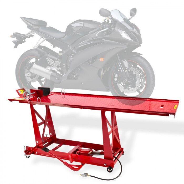 Dema Pont élévateur moto longueur table 2770 mm avec rampe