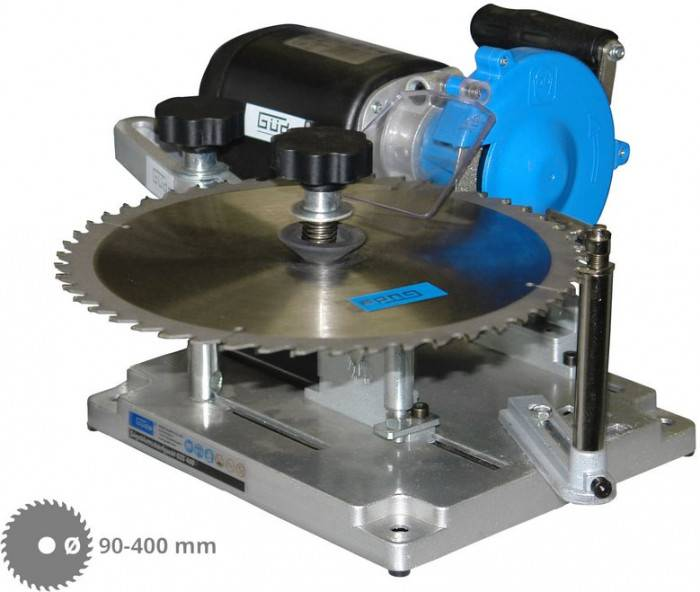 Guede Affûteuse lame de scie au carbure ou CV de Ø 90-400 mm