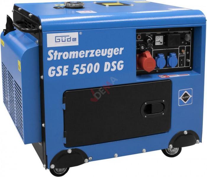 Guede Groupe électrogène régulateur tension 7,35kw GSE 5500 DSG