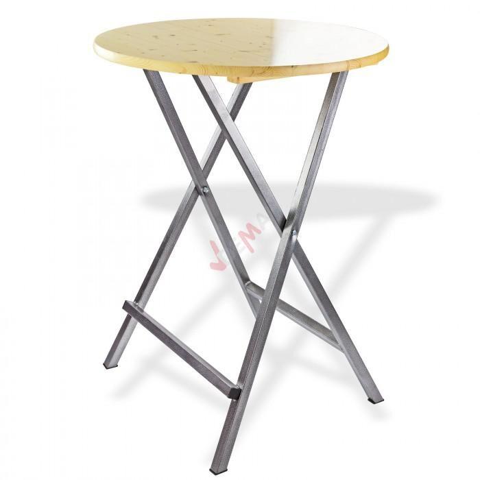 """Dema Table bistrot haute - Mange-debout pliable """"Visby"""""""