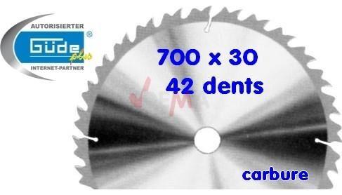 Guede Lame de scie à bûches G01846-G01870-G01840-G01714 - Carbure / HM